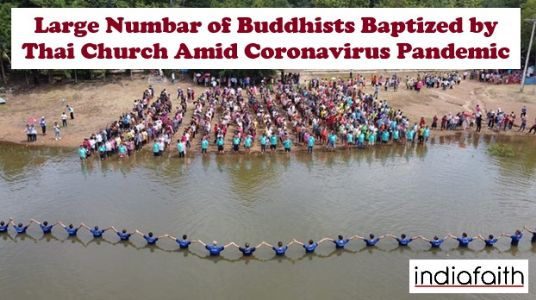 Thai Church baptized record-breaking Buddhist people amid Coronavirus pandemic