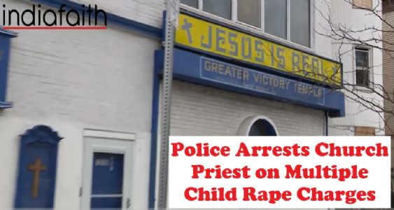 Police arrests Church priest on multiple child rape charges