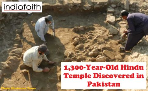 1,300-year-old Hindu temple discovered in Pakistan