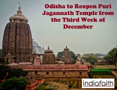 Odisha to reopen Puri Jagannath Temple from the third week of December