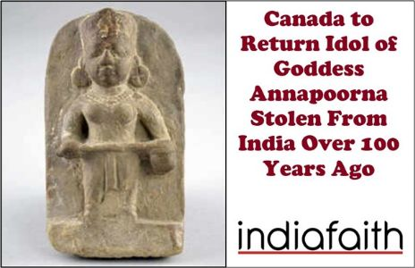 Canada to return idol of Goddess Annapoorna stolen from India over 100 years ago
