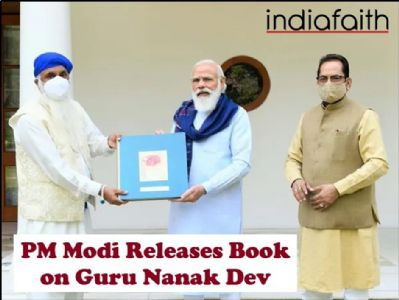 PM Modi releases book on Guru Nanak Dev