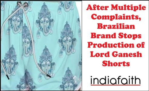 After multiple complaints, Brazilian brand stops production of Lord Ganesh shorts
