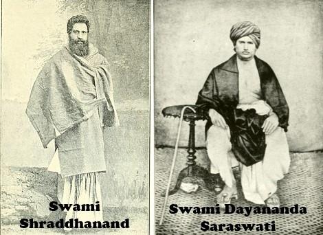 Swami Shradhanand and Swa