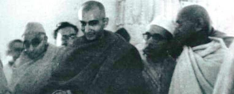 Swami Shradhananad and Ga