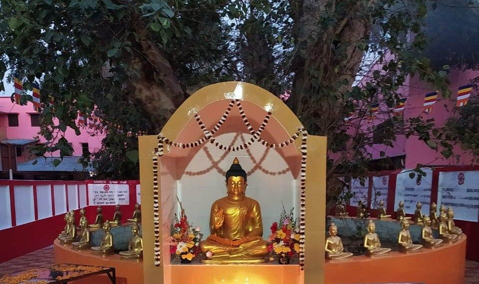 Gautam Buddha idol at Orr