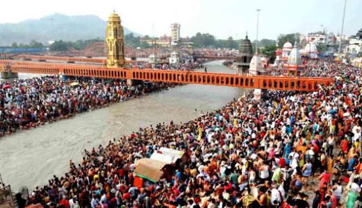 Coronavirus hits Kumbh preparations in Haridwar.