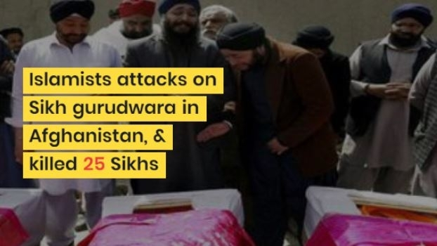 Islamists attacks on Sikh