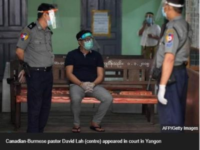 Pastor faces jail for breaching Coronavirus control rules imposed by Myanmar Government