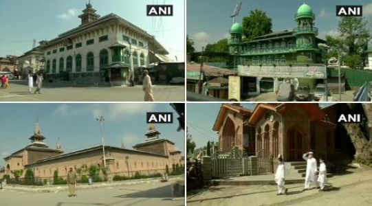Mosques in J&K remain close on Eid amid lockdown