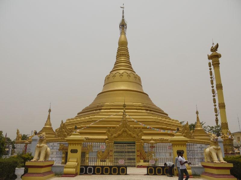 Buddhist site in Kushinag