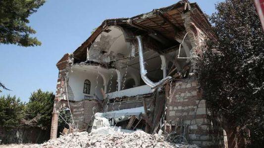 Turkish Islamic Foundation demolishes Greek Orthodox Church