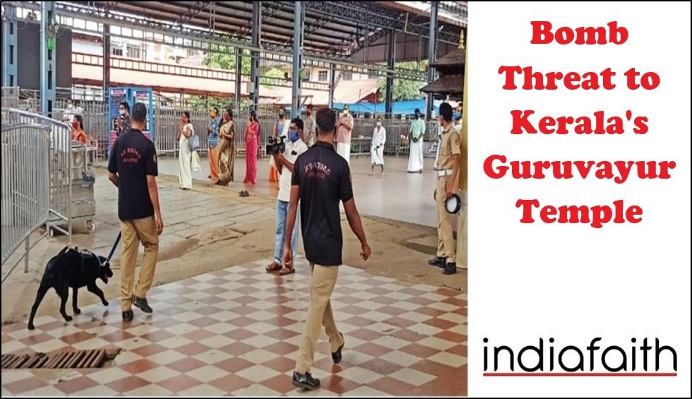 Bomb threat to Kerala's G