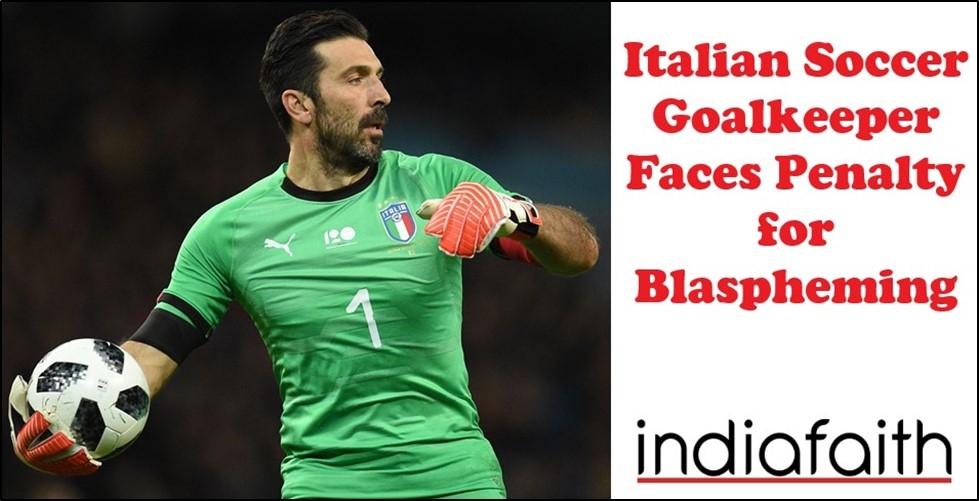 Italian Soccer Goalkeeper