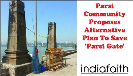 Parsi community proposes alternative plan to save 'Parsi Gate'