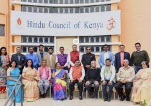 Kenya Hindus collecting d