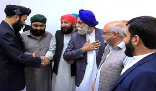 Afghan Hindus, Sikhs meet