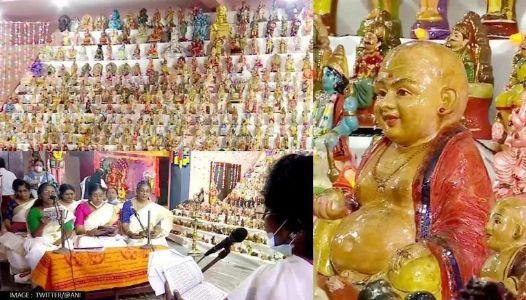 Over 2,500 miniature Idols displayed for Bommai Kolu in Kerala