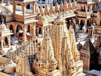 Palitana Jain temples to