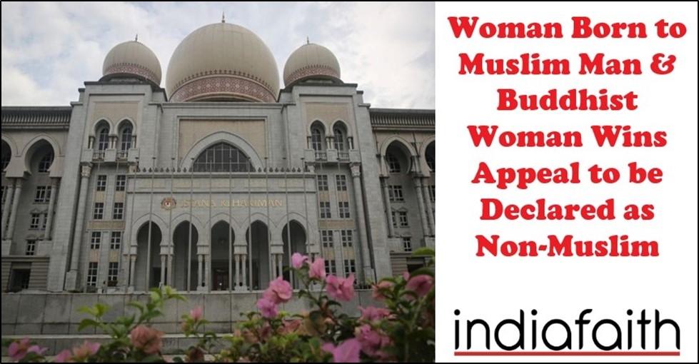 Woman Born to Muslim Man
