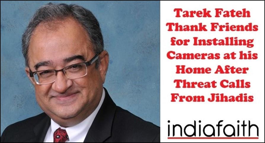 Tarek Fateh thank friends