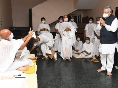 Acharya Mahashraman gives insights on Jainism discourse