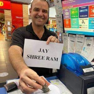 Anand Katira in Australia raises Rs 75,500 for Ram Mandir