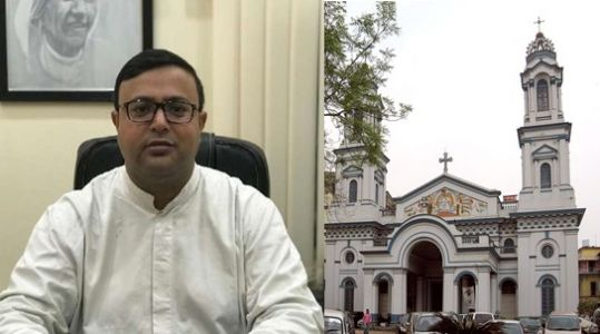 Christian priest leaves the church to join a political party in Kolkata