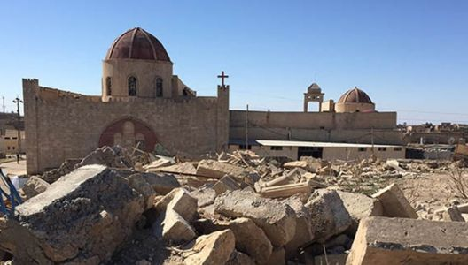 Christian organization finances reconstruction of Christian houses in Iraq