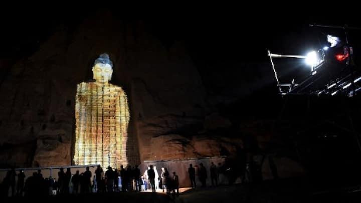 Afghan Bamiyan buddha ret