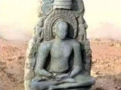 Jain idol found in Tamil Nadu's Tiruvallur