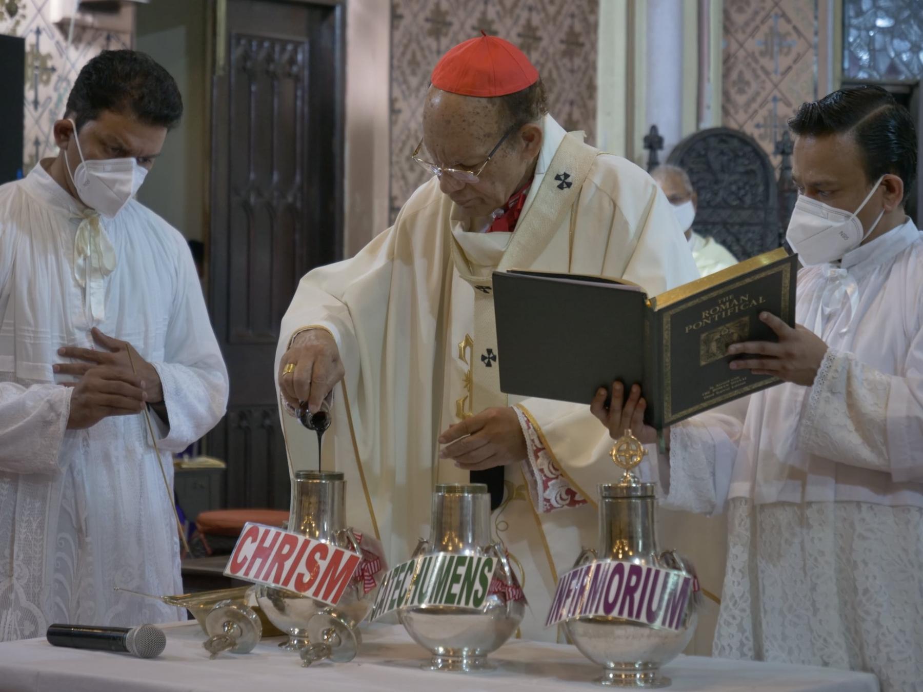 Mumbai Archbishop to dist