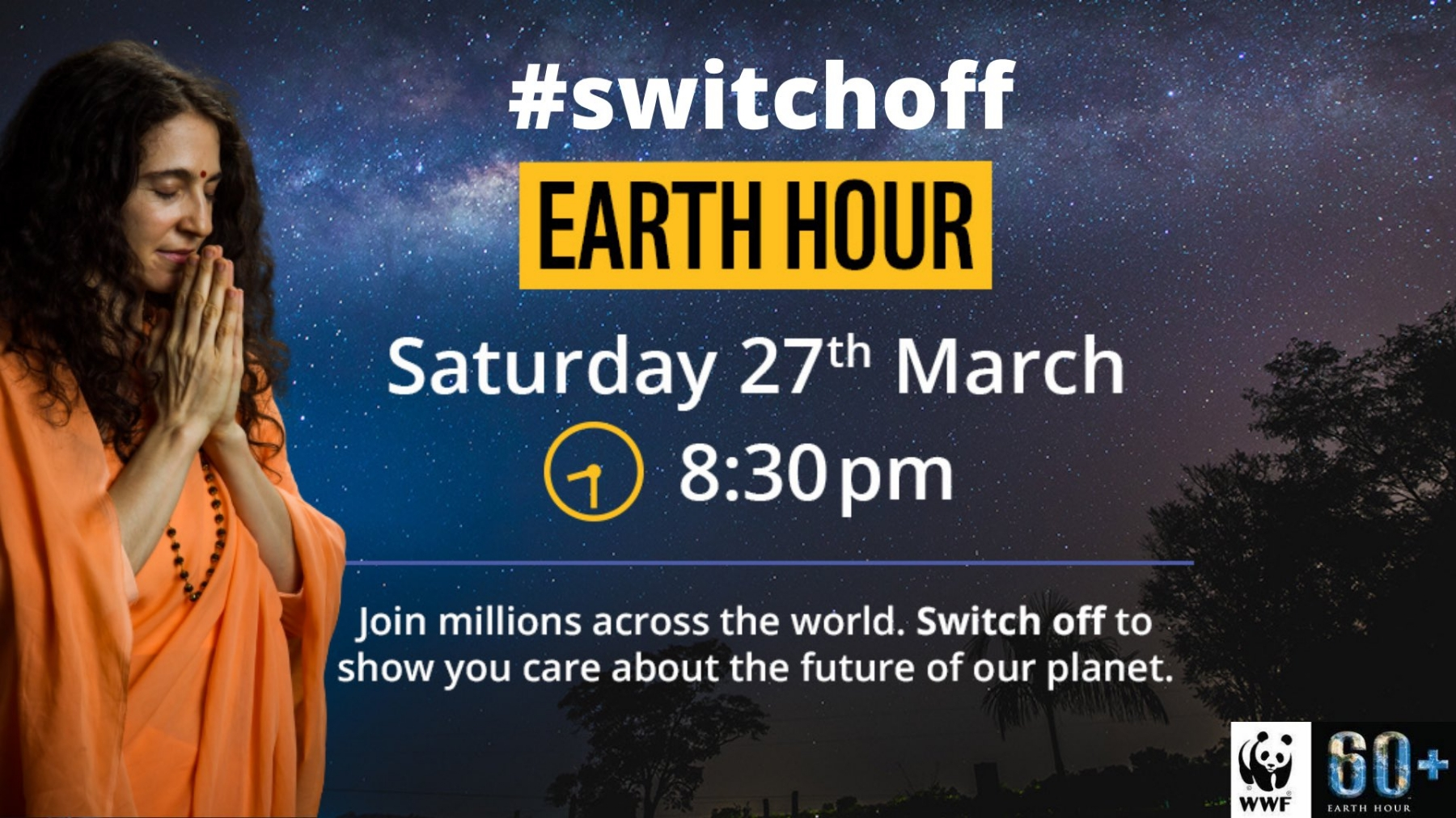 Earth Hour- 'Let's say no