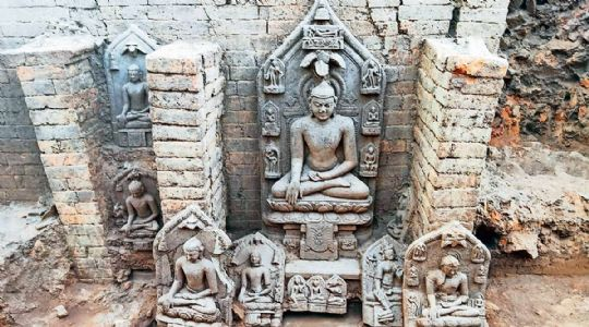 Police recovers stolen Buddha idols from Ranchi