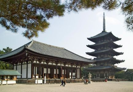 Nara Pagoda opens after its first renovation in over 100 years