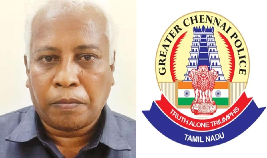 Chennai police arrests Ch