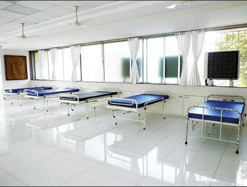 COVID center in Ahmedabad