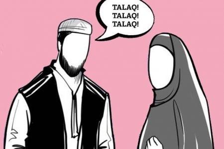 Husband gives talaq when