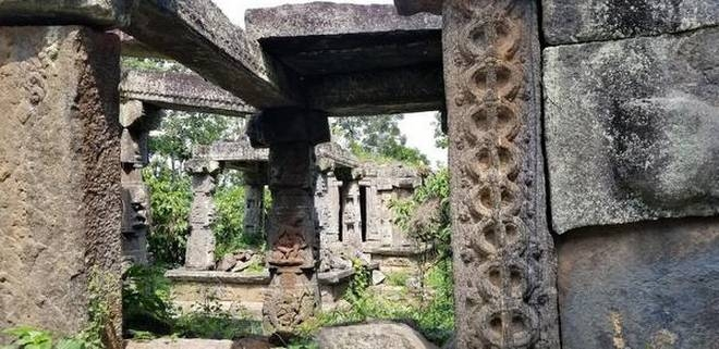 Temples including carving