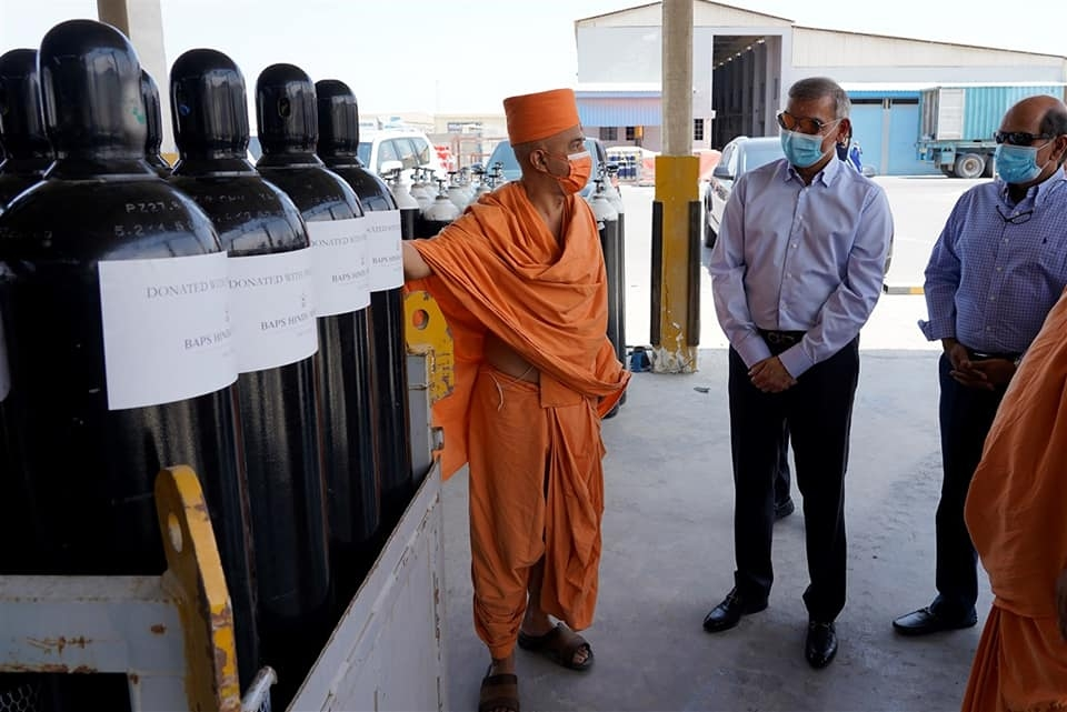 1 UAE based Hindu temple