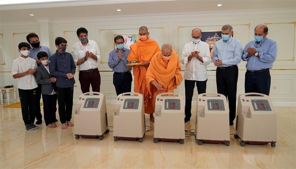 2 UAE based Hindu temple
