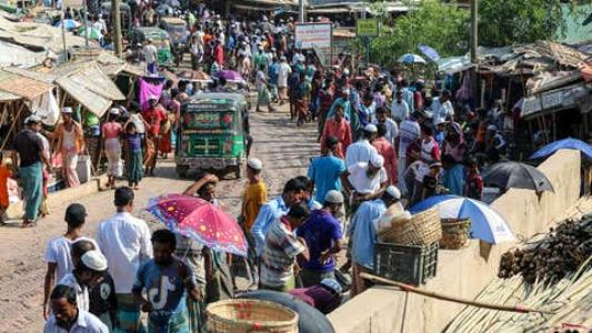 Sudden spike in Covid cases in Rohingya Muslim camp after Eid