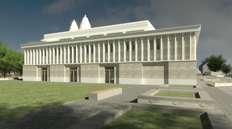 Oldham Hindu temple reach