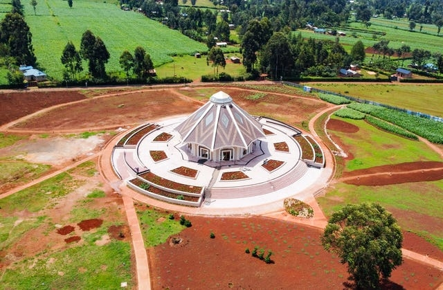 First Bahai temple opens