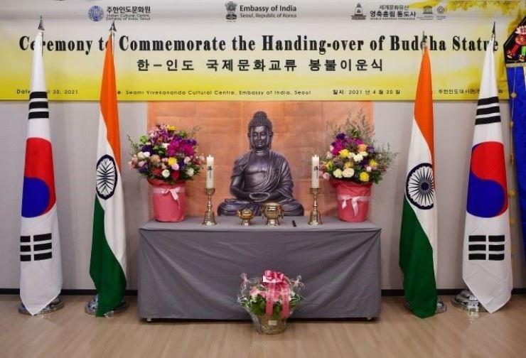 India offers Buddha statu