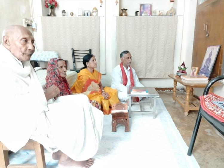 Jain community holds pray