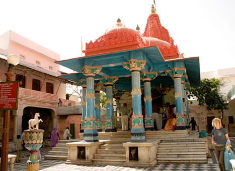 Pushkar's Brahma Temple r