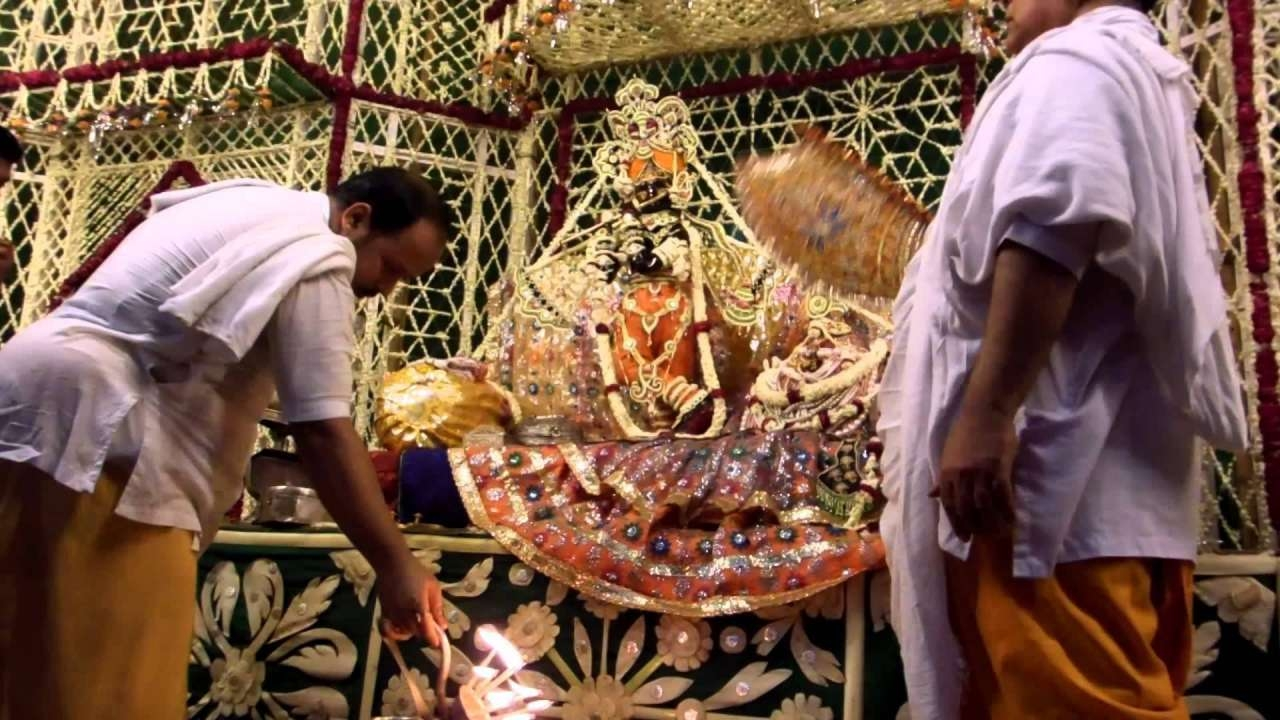 Devotees pay obeisance at