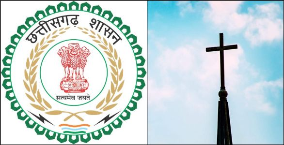 Officials demolish illegal church build on Govt land by converted Christian villagers