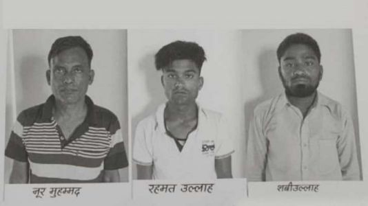 Police arrest three Muslim youths for settling Rohingyas illegally in Indian cities